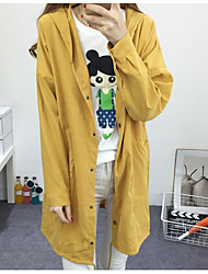 947 # Sign Spring and Autumn casual loose long paragraph cartoon dog coat female college wind Hoodie students