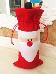 1шт Санта-Клауса Рождественский подарок мешок Рождественский подарок Рождественский подарок