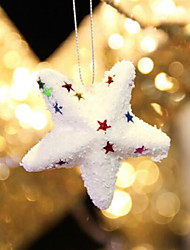 6Pcs Hot hot Style Christmas Product Christmas Bubble Ball Star Beautiful Christmas Decorations Necessary Accessories