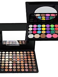 118 Paleta de Sombras Mate / Brilho Paleta da sombra Creme Conjunto Maquiagem para o Dia A Dia