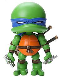 tortugas Ninja Cosplay PVC 20cm Las figuras de acción del anime Juegos de construcción muñeca de juguete