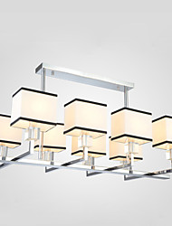 Lampe suspendue ,  Contemporain Rustique Plaqué Fonctionnalité for Cristal Designers MétalSalle de séjour Chambre à coucher Salle à