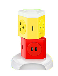 Creative Vertical Multi-Function With USB Socket (Note Color Vertical 2-Mode 4-Bit With USB)