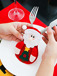 Christmas Theme Cute Knife And Fork Cover With High Quality