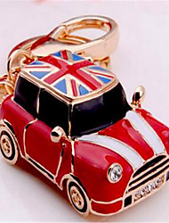 Flag Mini Car Keychain