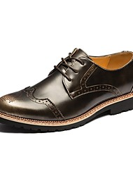 Men's Oxfords  Comfort Leather Office & Career / Business Style / British Bullock / New Arrival