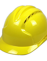 Construction Site ABS Safety Helmet (Yellow)