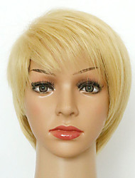 Short Wig for Women Synthetic Wigs Sexy Blonde Color Straight Wigs