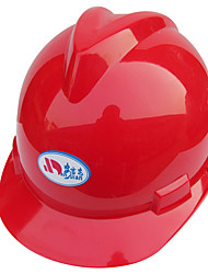 casco de seguridad abs (rojo)