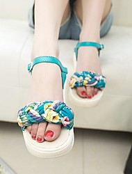 Women's Slippers & Flip-Flops Others PU Casual Black / Blue / White