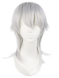 Men's Silver Wig The Sword Dance Series Anime COSPLAY Wig