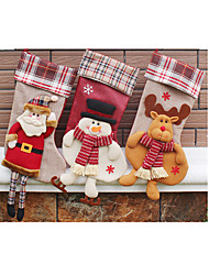 Santa Stocking Christmas Decorations