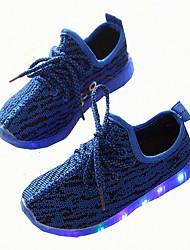 Fille-Décontracté-Noir / Bleu / Blanc / Gris-Talon Plat-Others-Sneakers-Synthétique