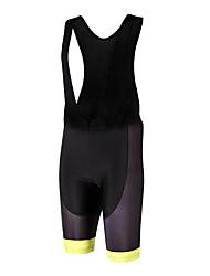 Esportivo Bermudas Bretelle Unissexo Respirável / Secagem Rápida / Design Anatômico / Vestível Moto Calções Bibes Poliéster / LYCRA®