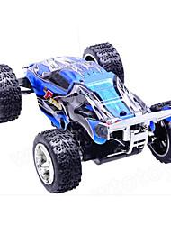 Carro WLToys 2019 1:28 Electrico Escovado RC Car 2.4G Vermelho / Azul / Preto Pronto a usarCarro de controle remoto / Controle