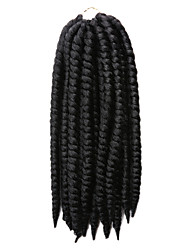 La Havane Tresses Twist Extensions de cheveux 12Inch Kanekalon 12 Strands (Recommended Buy 4-5 Packs Full Head) Brin 80g grammeBraids