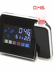 Temperature And Humidity   Projection Alarm Clock