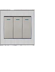trois interrupteur simple commande d'ouverture
