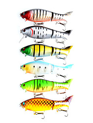 1 pcs Hard Bait / Fishing Lures Hard Bait Random Colors 13.5 g Ounce mm inch,Hard Plastic Bait Casting