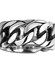 Ring Jewelry Stainless Steel Steel Fashion Black Jewelry Wedding Party Halloween Daily Casual 1pc