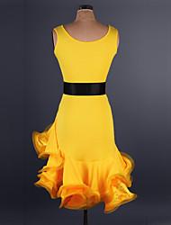 Больше костюмов Косплэй Kостюмы Фестиваль / праздник Костюмы на Хэллоуин Синий Красный Желтый Цвет фуксии Чернильный синий Горошек Платье