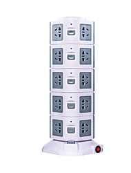 USB Vertical Socket (Color Gray  White)