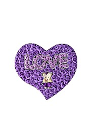 taille 40,5 * 36 * 4.8cm deep purple la boîte roses cadeau