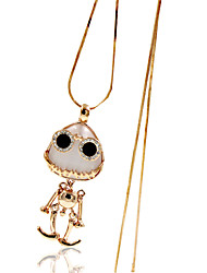 Necklace Imitation Opal Jewelry Wedding / Party / Daily / Casual Animal Design Alloy Translucent 1pc Gift