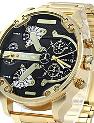 Masculino Relógio Esportivo Relógio Militar Relógio Elegante Relógio de Pulso Bracele Relógio Único Criativo relógio Quartzo Japonês