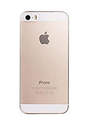 Pour Coque iPhone 7 Coques iPhone 7 Plus Coque iPhone 6 Coques iPhone 6 Plus Coque iPhone 5 Ultrafine Transparente Coque Coque Arrière