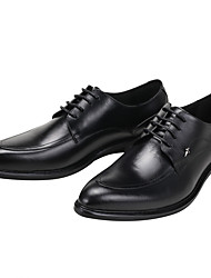 Men's Oxfords Comfort Genuine Leather Wedding/Office&Career/Party&Evening/Casual Flat Heel