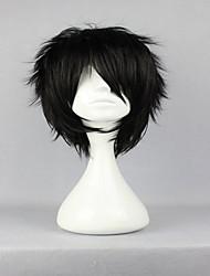 superior central projetar o príncipe Akaya ténis Kirihara clássica ásia peruca cosplay preto