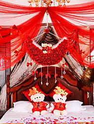 Полиэтилен Свадебные украшения-6шт / Установить Весна Лето Осень Зима Неперсонализированный