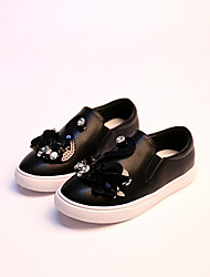 Girl's Loafers & Slip-Ons Comfort PU Casual Black / Silver