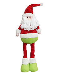 Christmas Decorations / Christmas Toys Holiday Supplies 2Pcs Christmas Textile Red / Green