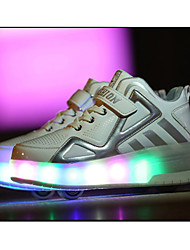 Kid Boy Girl Roller Shoes / Ultra-light Two Wheel Skating LED Light Shoes / Athletic / Casual LED Shoes