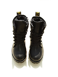 Girl's Boots Others PU Casual Black Red