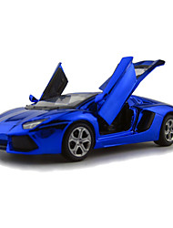 Action Figure / Play Vehicles Model & Building Toy Car Metal Blue / Purple / Gold For Boys Above 3