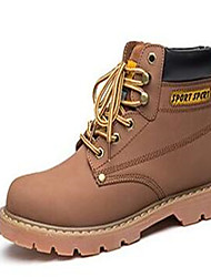 Men's Boots Spring / Fall / Winter Others Leather Casual Lace-up Black / Brown / Yellow Others