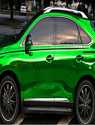 Car Personalized Paste Body Decoration Of The Whole Car Green Plating Change Color Film