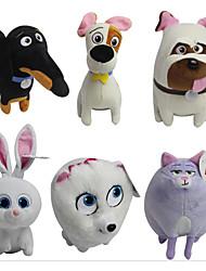 The Secret Life of Pets Plush Toys 20CM Cartoon Stuffed Animals Gift(6 Pcs a Lot)