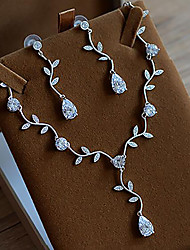 Lovely Necklace Zirconia Jewelry set Jewelry Wedding / Party Fashion / Adorable Zircon