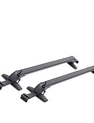 Car Luggage Rack Rail Universal Aluminum Alloy With A Lock Roof Bar Cross Bar Sedan