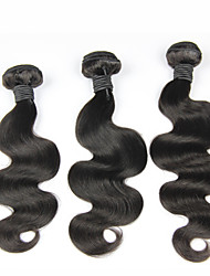 3pcs/lot Brazilian Virgin Hair Body Wave Human Hair Weave 10-30inches Natural Color Human Hair Bundles
