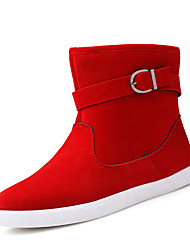 Men's Boots Spring / Fall / Winter Others Leather Casual Hook & Loop Black / Blue / Red Others