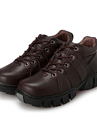 Men's Sneakers Spring / Fall Comfort Fabric Casual Flat Heel  Black / Brown Sneaker