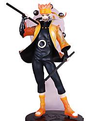 Las figuras de acción del anime Inspirado por Naruto Naruto Uzumaki PVC 22 CM Juegos de construcción muñeca de juguete