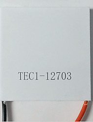 semicondutores arrefecimento filme tec1-12703 40 * 40mm baixo consumo de energia 12V3A (pacote nota 5)