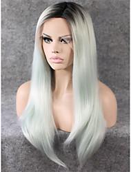 imstyle 24''high mix raiz marrom menina peruca dianteira resistente ao calor direto do laço sintético