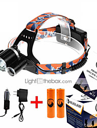 U`King ZQ-X805 Headlamp LED 4 Mode 9000LM   Lumens Dimmable
